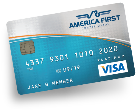 Visa platinum credit card america first credit union 1 cash back reheart Images